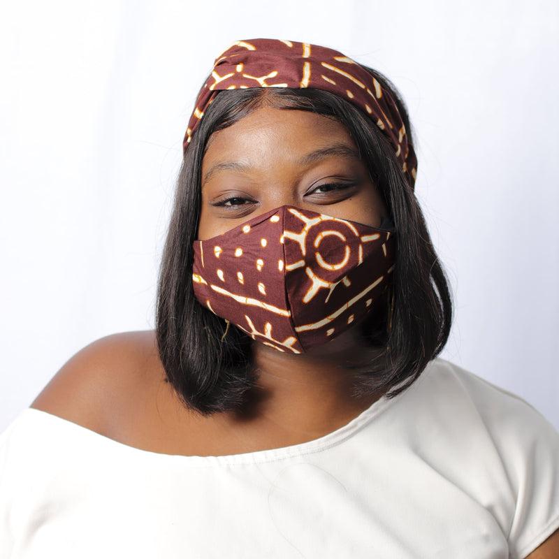 Brownie Delight Turban Headband - Turban Headband Set - hair