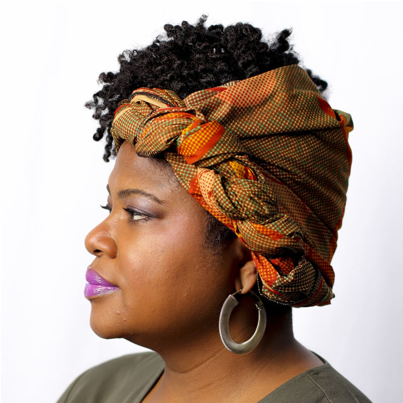 Butterscotch Anyone Headwrap - hair accessories