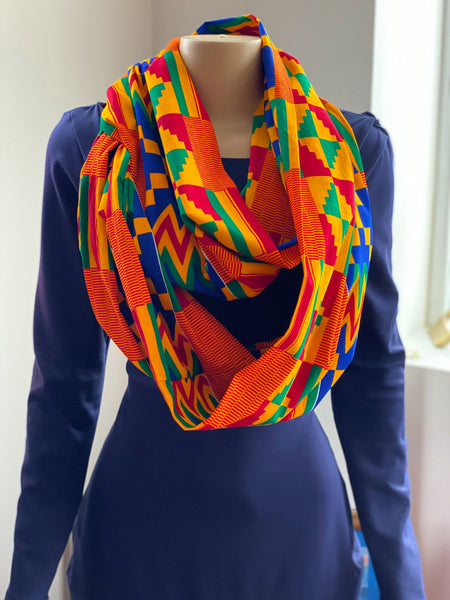 Infinity scarf with pocket - Candace Cort Designs