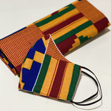 Kente Kente Headwrap Set - Candace Cort Designs
