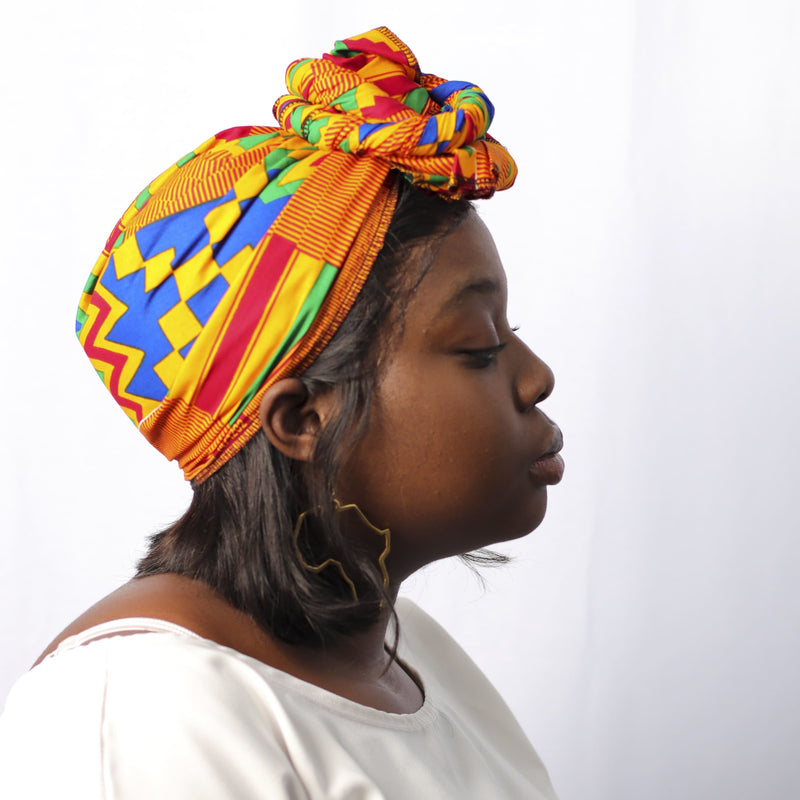Kente Kente Headwrap - hair accessories