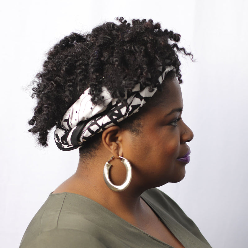 Old School Cool Headwrap - hair accessories