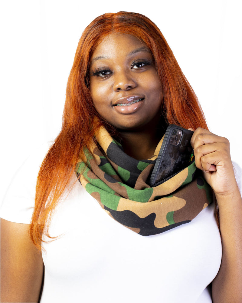 Pocket Infinity Scarf- Combat This - SCARF ONLY -