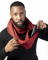Pocket Infinity Scarf- We solid - RedHook - Accessories