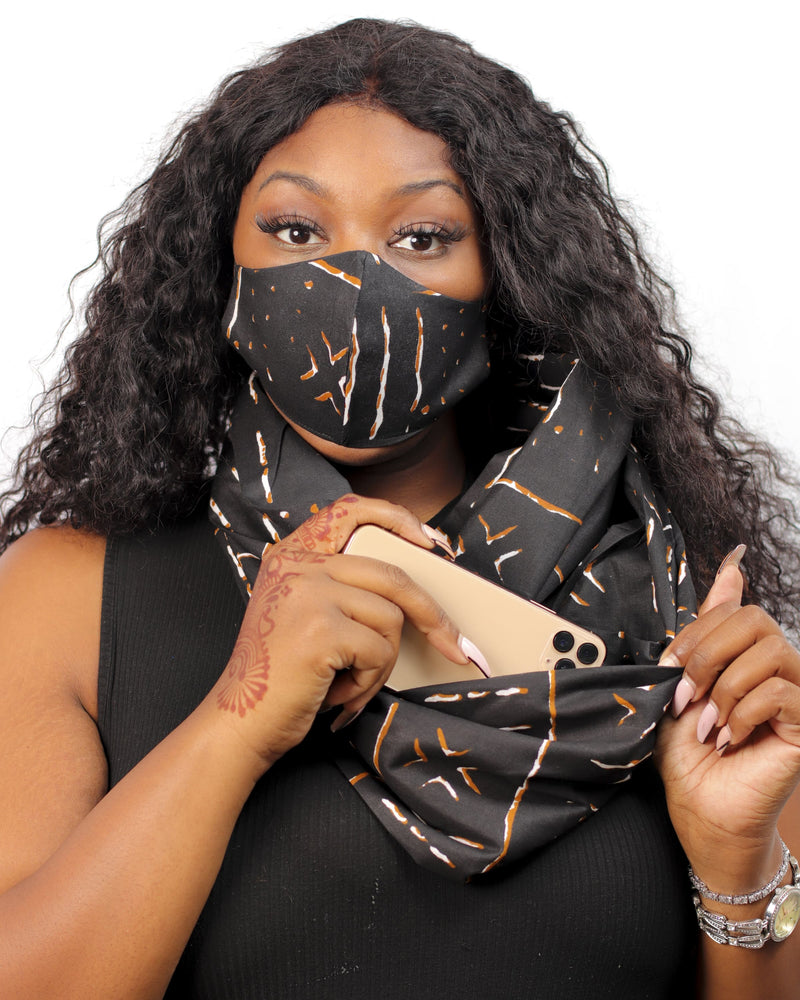 Pocket Infinity Scarf- X-Factor - SCARF & MASK - Accessories