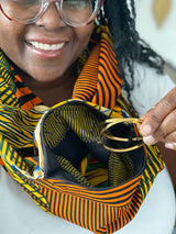 Pocket Infinity Scarf- Yardie - Accessories