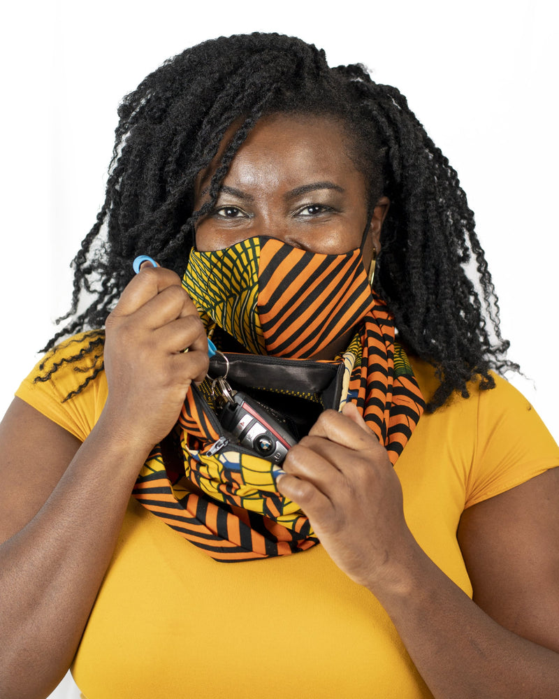Pocket Infinity Scarf- Yardie - SCARF & MASK - Accessories