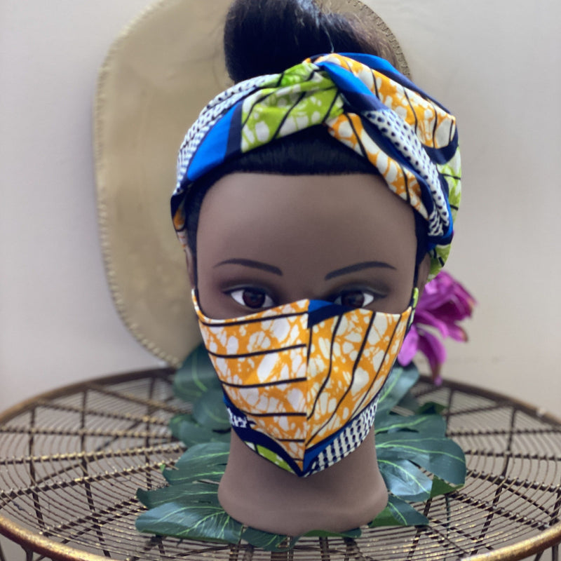 Spring Time Maybe Turban Headband Set - Spring time Maybe -