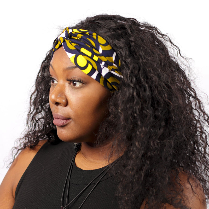The Entanglement Turban Headband - hair accessories