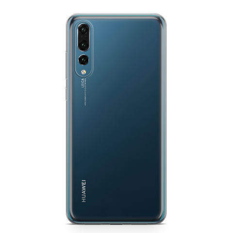 Clear plastic phone case for Huawei models