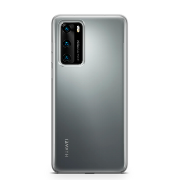 Clear rubber phone case for Huawei models
