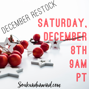 DECEMBER 8TH RESTOCK: PRODUCT & SCENT LIST