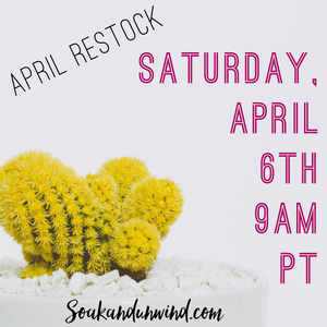 APRIL 6TH RESTOCK: PRODUCT & SCENT LIST