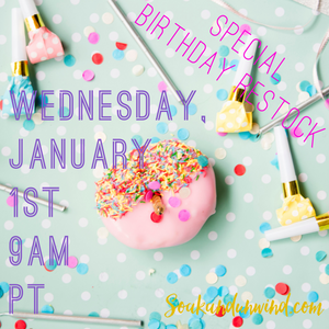 JANUARY 1ST BIRTHDAY SALE RESTOCK: PRODUCT & SCENT LIST
