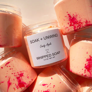 Candy Apple Whipped Soap