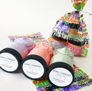 I Put A Spell On You Mini Whipped Soap Sampler