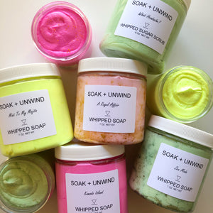 Extra Whipped Sugar Scrubs