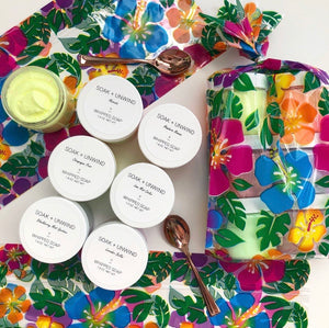 Boozy Summer Days Mini Whipped Soap Sampler