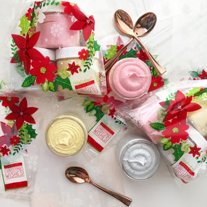 Happy Holidays Mini Whipped Soap Sampler