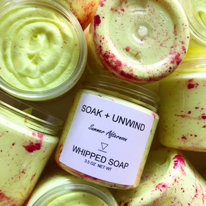 Summer Afternoon Whipped Soap