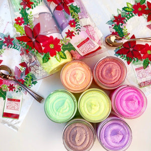 Holiday Drinks Mini Whipped Soap Sampler
