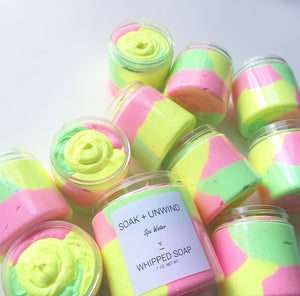 Spa Water Whipped Soap - 100% Of Proceeds Donated to Navajo Water Project