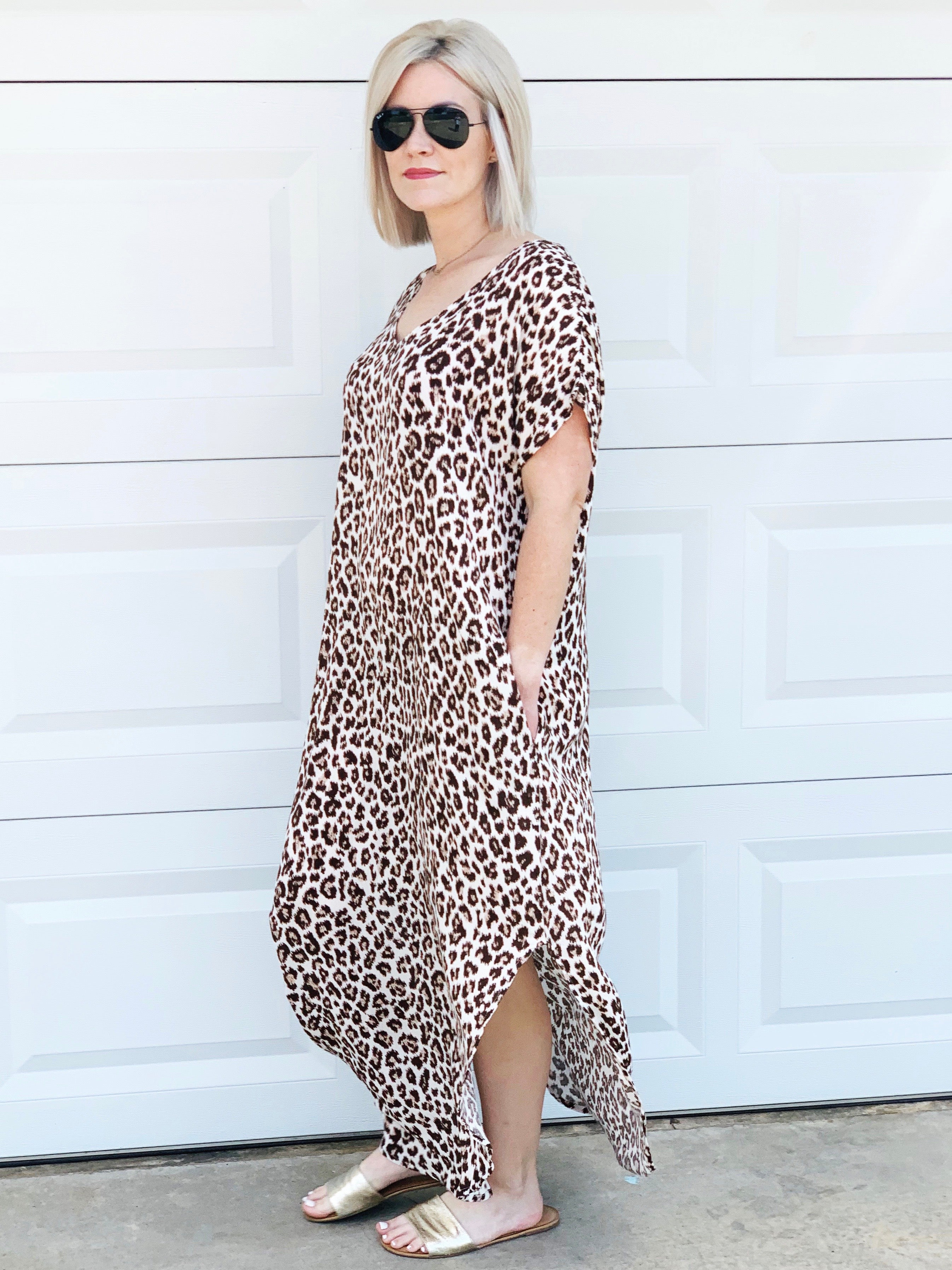 can't stop won't stop leopard maxi