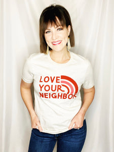 love your neighbor graphic tee