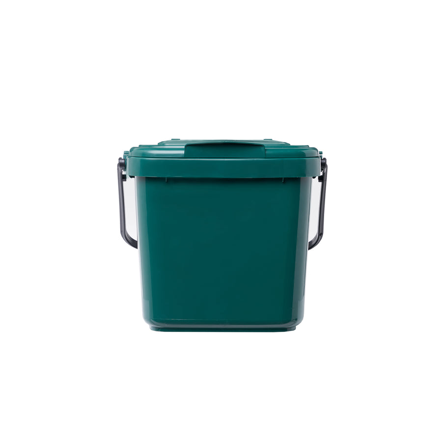 7L Kitchen Caddy for collecting your kitchen food scraps. Picture of bin front on.