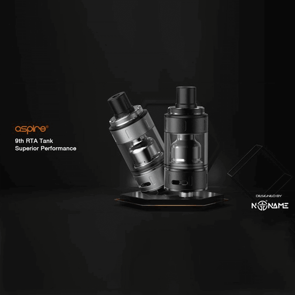 Aspire 9th 22mm Subohm RTA & Stock Coil Tank By Aspire for your vape at Red Hot Vaping