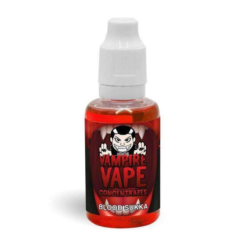 Blood Sukka Concentrate By Vampire Vape 30ml for your vape at Red Hot Vaping