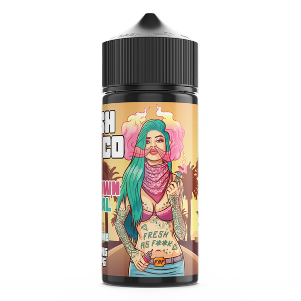 Downtown Central By Fresh Vape Co 100ml Shortfill for your vape at Red Hot Vaping
