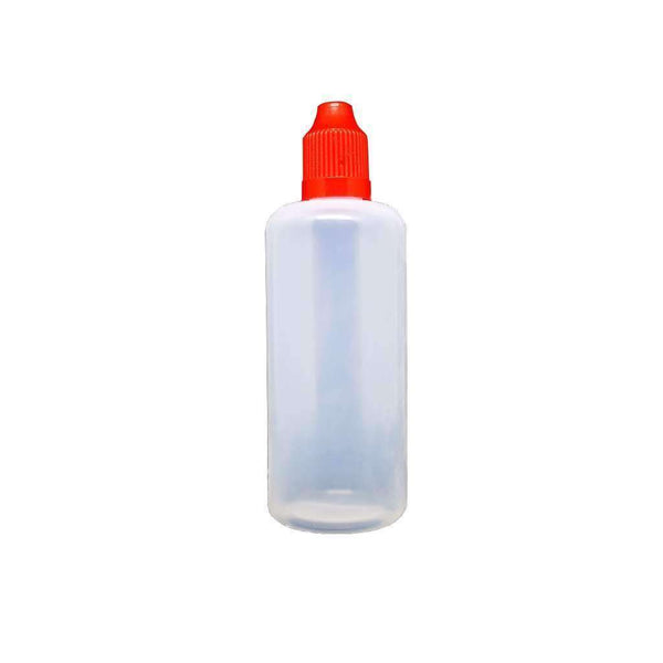 100ml LDPE Bottle for your vape at Red Hot Vaping