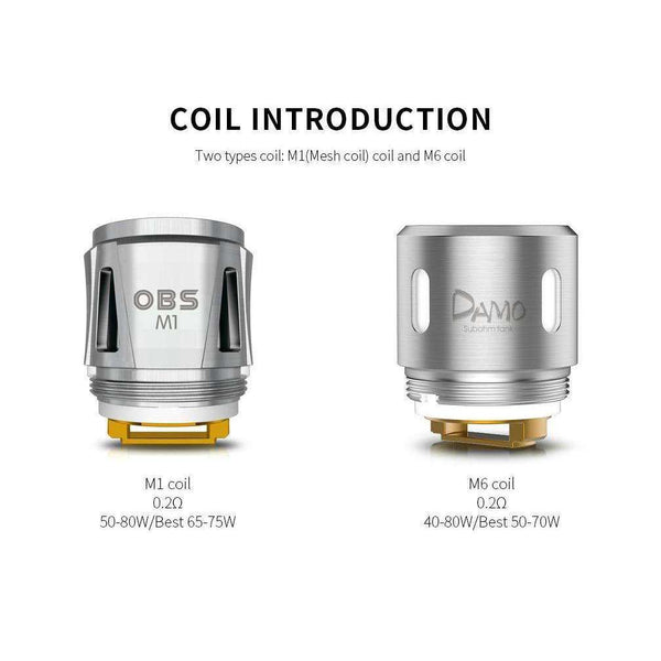 OBS Cube Coils a  for your vape by  at Red Hot Vaping