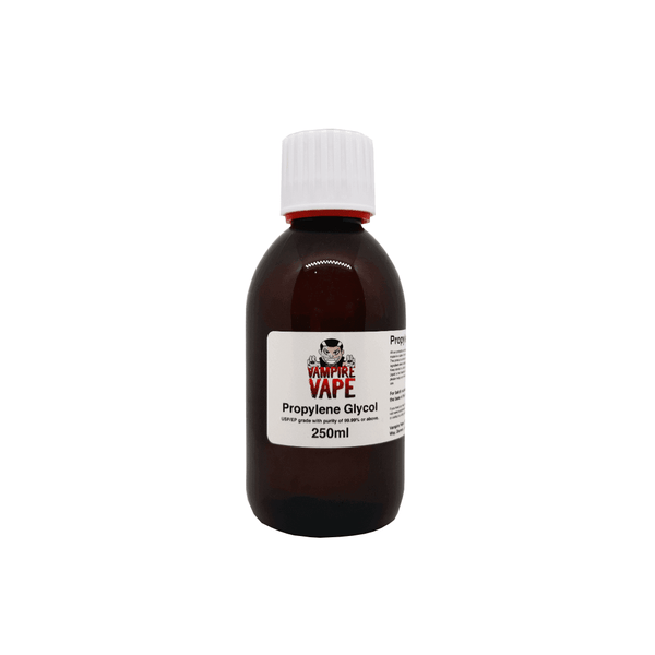 250ml PG for your vape at Red Hot Vaping