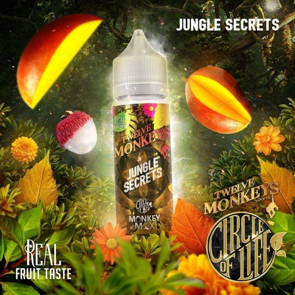 Jungle Secrets By Twelve Monkeys 50ml Shortfill for your vape at Red Hot Vaping