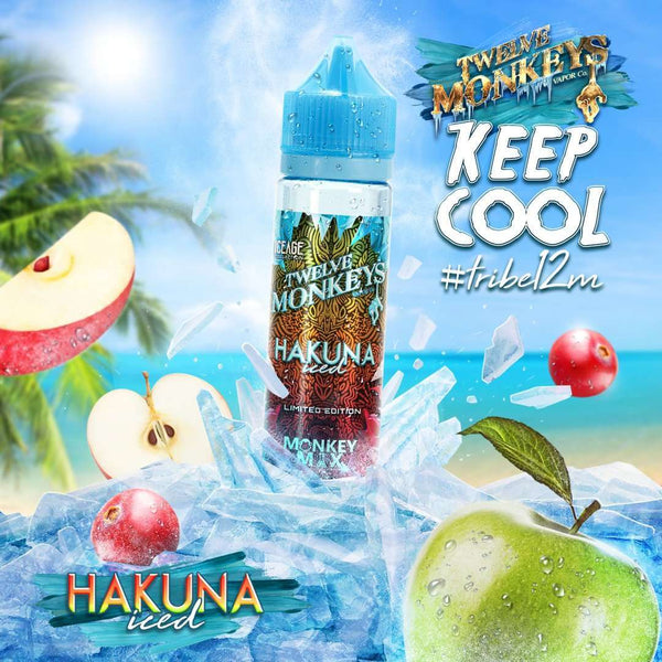 Hakuna Ice Twelve Monkeys 50ml a  for your vape by  at Red Hot Vaping