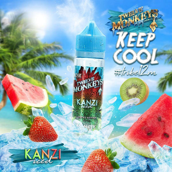 Kanzi Ice Twelve Monkeys 50ml a  for your vape by  at Red Hot Vaping