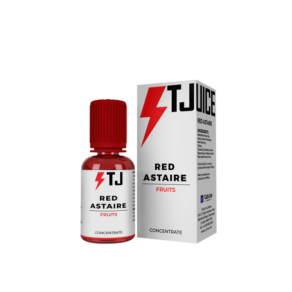 Red Astaire Concentrate By T Juice for your vape at Red Hot Vaping