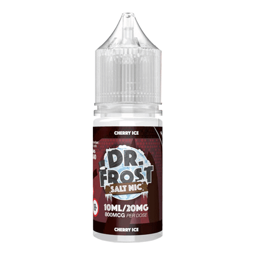 Cherry Ice By Dr Frost Salt 20mg for your vape at Red Hot Vaping