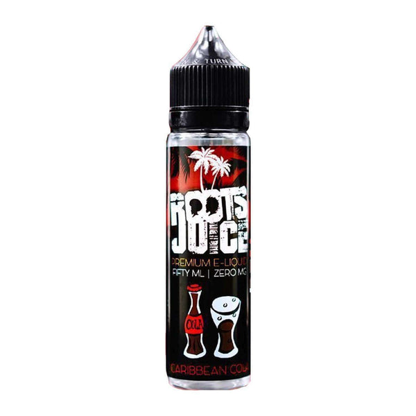 Caribbean Cola By Roots Juice 50ml Shortfill for your vape at Red Hot Vaping