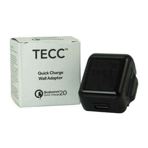 2 Amp wall plug By Tecc for your vape at Red Hot Vaping