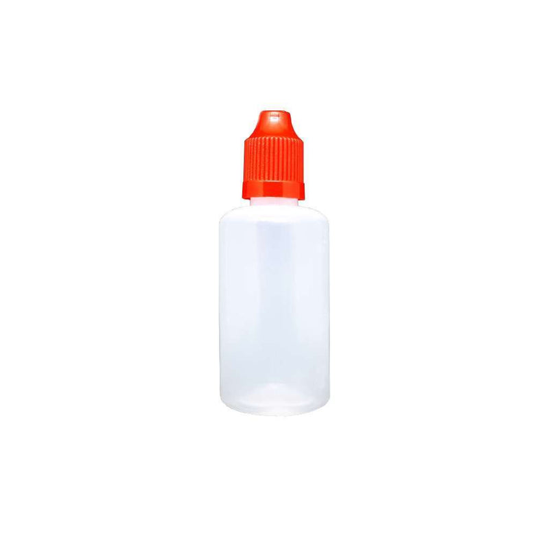 50ml LDPE Bottle for your vape at Red Hot Vaping