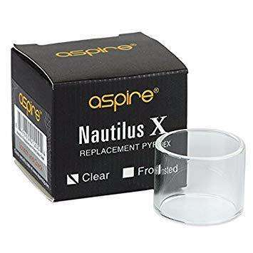 Aspire Nautilus X Glass for your vape at Red Hot Vaping