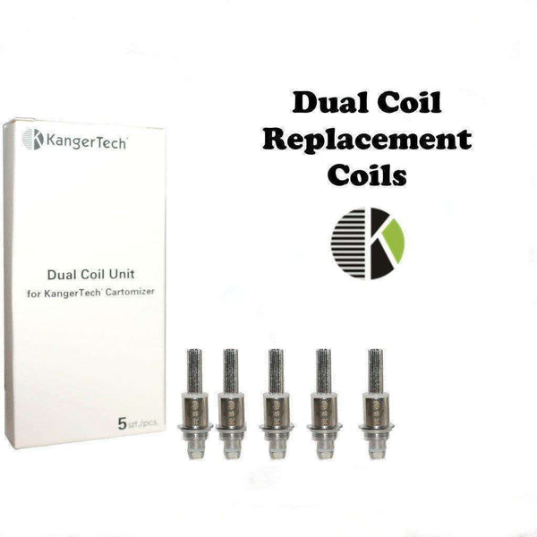 Kanger Dual Coils a  for your vape by  at Red Hot Vaping