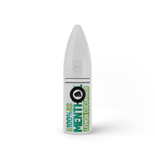 100% Menthol Lemon Cucumber By Riot Squad Salts 10ml for your vape at Red Hot Vaping