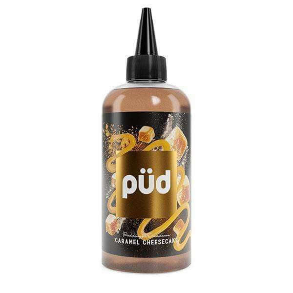 Caramel Cheesecake By Pud 200ml Shortfill for your vape at Red Hot Vaping
