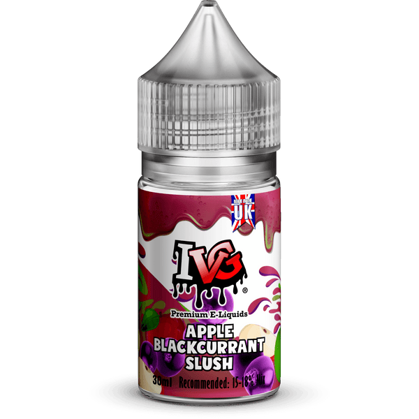 Apple Blackcurrant Slush Concentrate By IVG 30ml for your vape at Red Hot Vaping