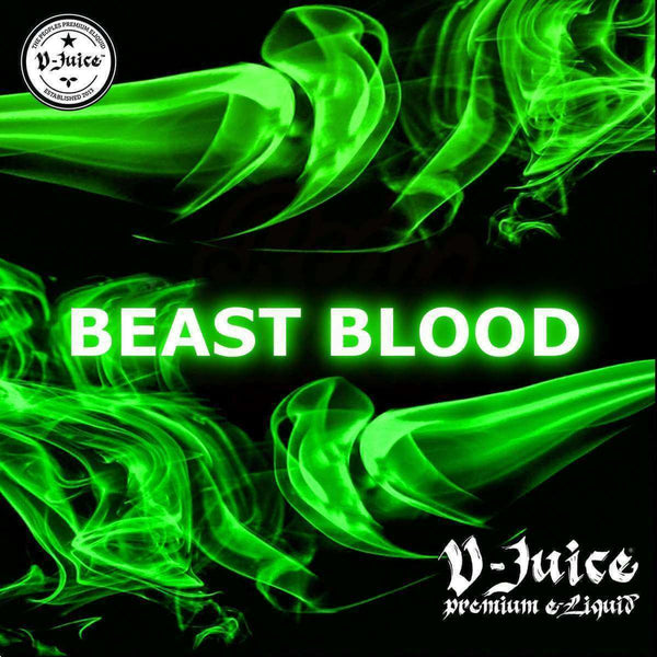 Beast Blood By Vjuice 10ml 50/50 for your vape at Red Hot Vaping