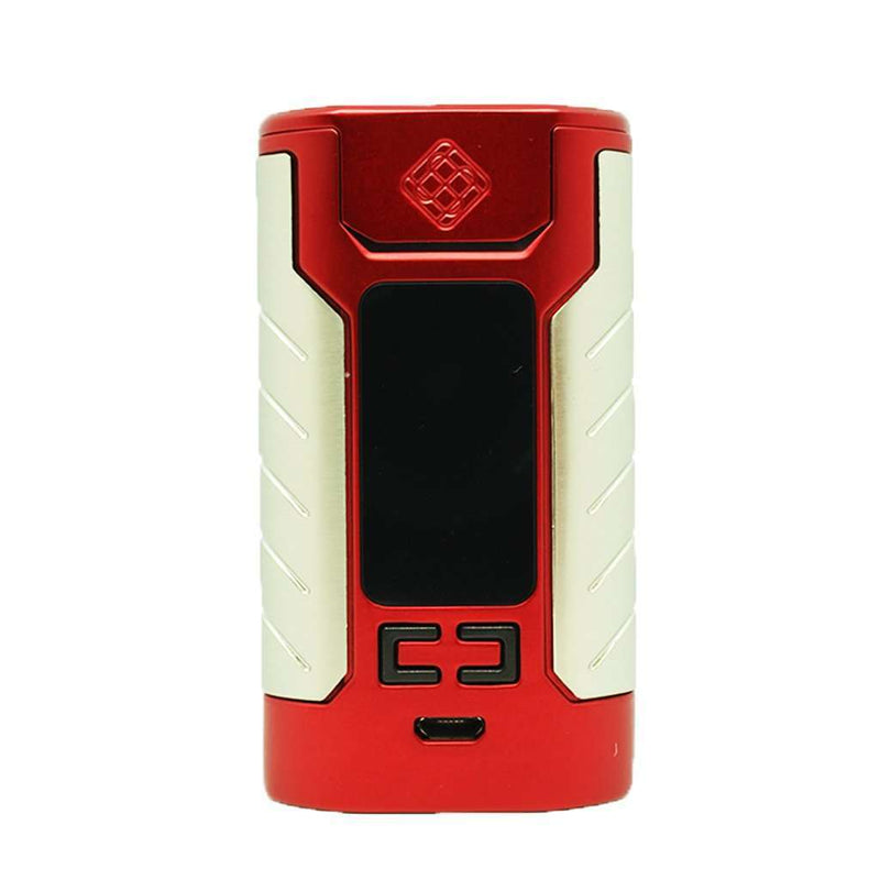 Sinuous FJ200 Mod By Wismec in Red, for your vape at Red Hot Vaping